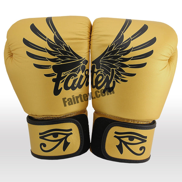 "Fairtex Gold ""Limited"" Edition- Muay Thai/Boxing Gloves"