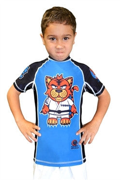 FUJI Sports Toshi the Tiger Rash Guard, Kids - Bridge City Fight Shop - 1