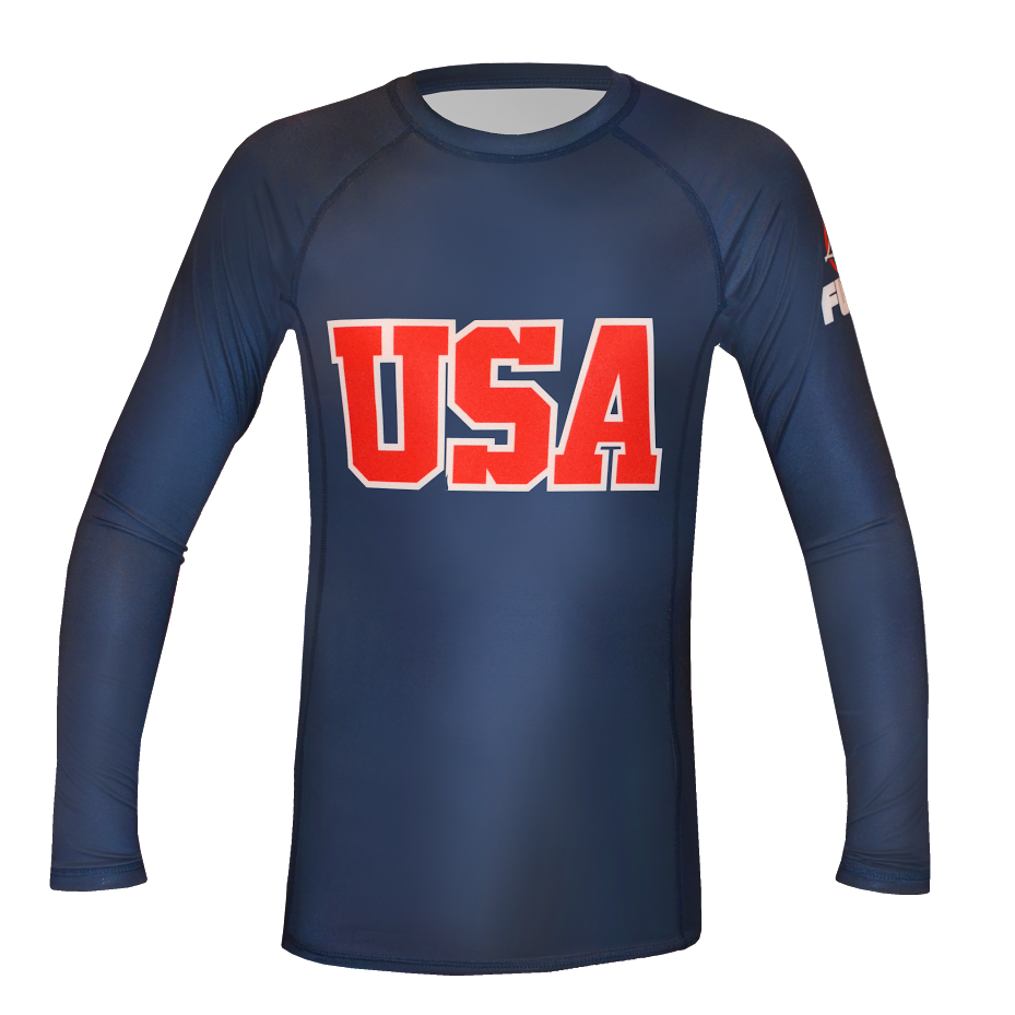 FUJI Sports Kids USA Rashguard - Bridge City Fight Shop