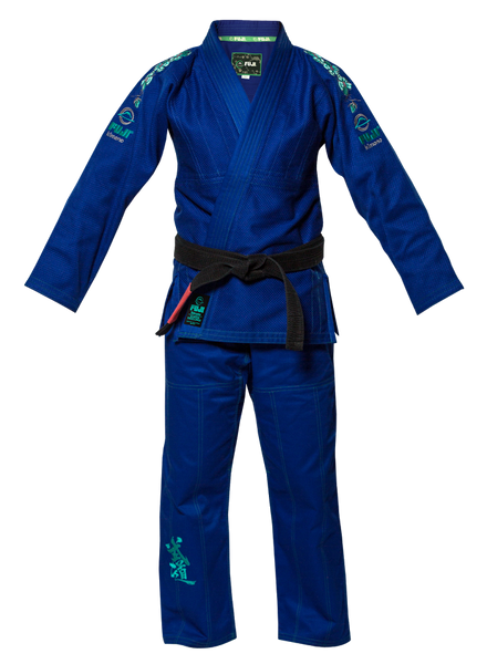 FUJI Sports Gi Blue Blossom - Bridge City Fight Shop - 1