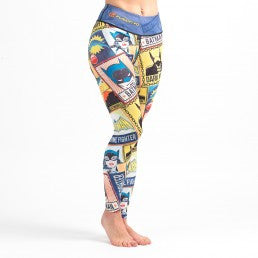 Fusion Batman Crime Fighter Women's Leggings (Spats) - Bridge City Fight Shop - 1