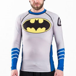 Fusion Batman Silver Age Logo Rashguard - Bridge City Fight Shop
