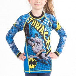 Fusion Batman Thwack Kids Rashguard- Long Sleeve - Bridge City Fight Shop