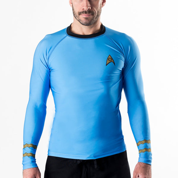 Fusion Star Trek Classic Uniform Rash Guard - Bridge City Fight Shop