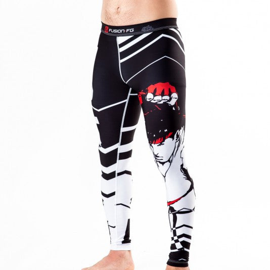Fusion Street Fighter Ryu Spats - Bridge City Fight Shop