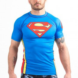 Fusion Superman Classic Logo Rashguard- Shortsleeve - Bridge City Fight Shop - 16