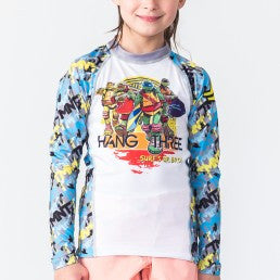 Fusion TMNT Hang Three Kids Rashguard – Long Sleeve - Bridge City Fight Shop