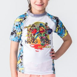 Fusion TMNT Hang Three Kids Rashguard – Short Sleeve - Bridge City Fight Shop