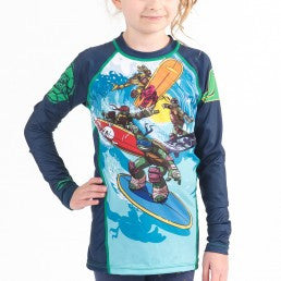 Fusion TMNT Sewer Surfin' Kids Rashguard – Long Sleeve - Bridge City Fight Shop