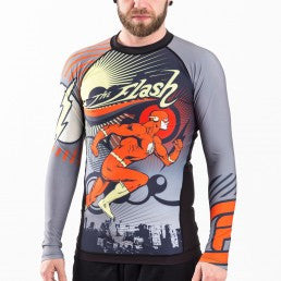 Fusion The Flash Running Man Rashguard - Bridge City Fight Shop