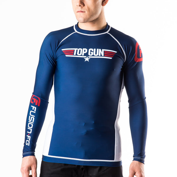 Fusion Top Gun Classic Rashguard - Bridge City Fight Shop