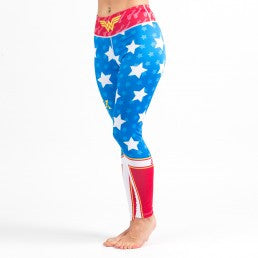 Fusion Wonder Woman Leggings (Spats) - Bridge City Fight Shop