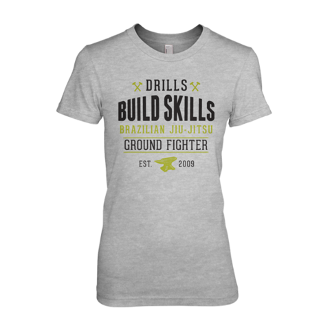 Ground Fighter Women's Drills Build Skills Shirt - Bridge City Fight Shop - 1