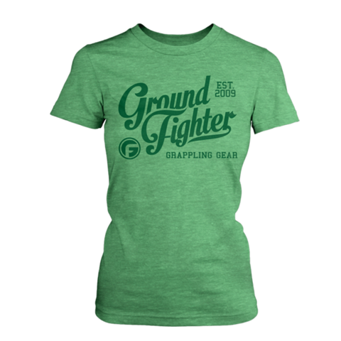 Ground Fighter Scripted Shirt (Women's) - Bridge City Fight Shop