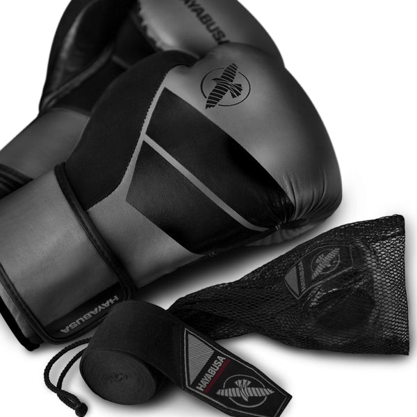 Hayabusa S4 Boxing Gloves & Hand Wraps Kit