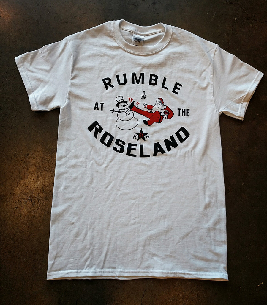 FCFF Rumble at the Roseland 84 Shirts - Bridge City Fight Shop