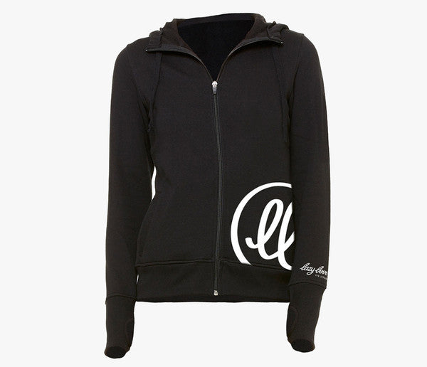 Lazy Lover Iconic Women's Zip Hoodie - Bridge City Fight Shop