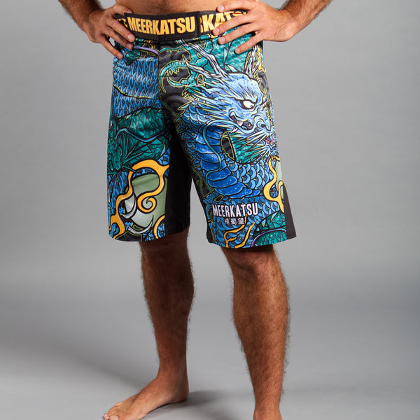 Meerkatsu Colliding Dragons Shorts