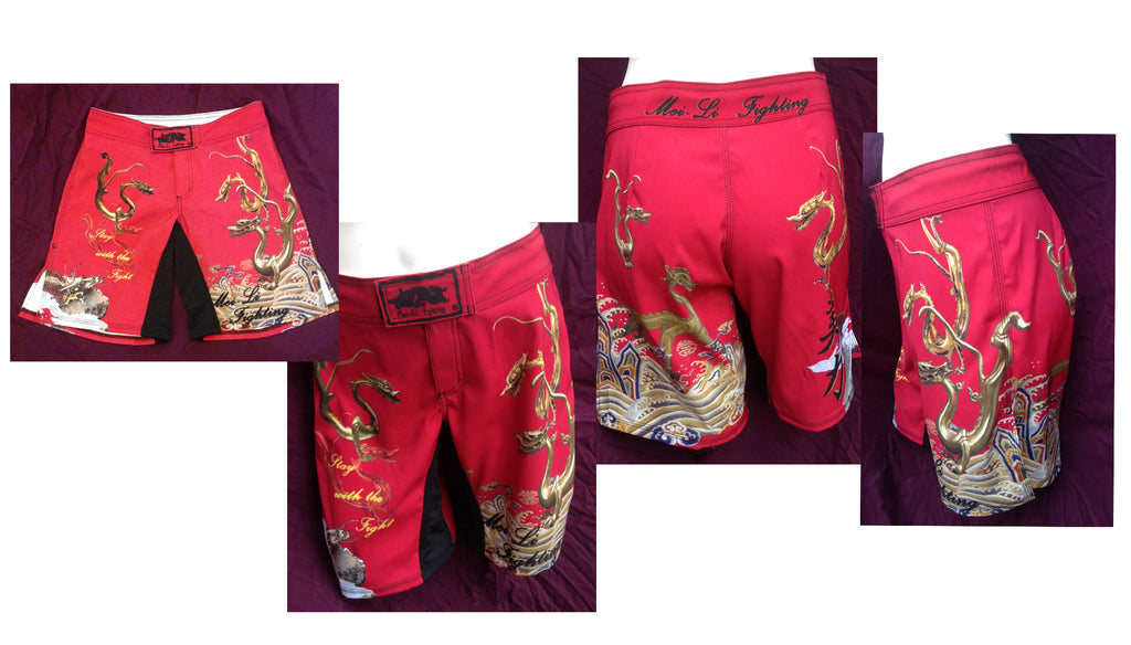 Mei Li 9 Dragon MMA Shorts - Bridge City Fight Shop
