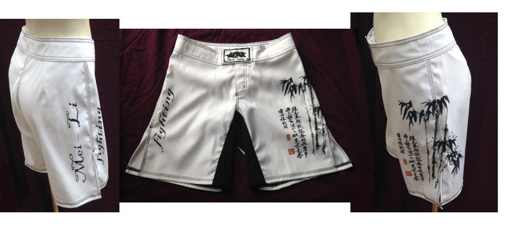 Mei Li Bamboo Fighting Shorts - Bridge City Fight Shop