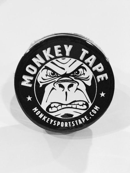 Monkey Tape BLACK FOUR PACK OF 0.2""