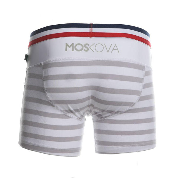Moskova M2 Cotton Flag White Grey Boxer Briefs
