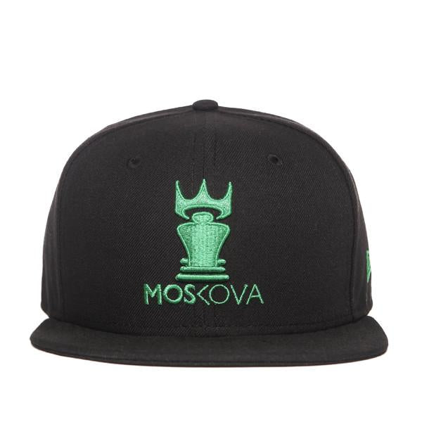 Moskova New Era Black/Green Moskova Hat