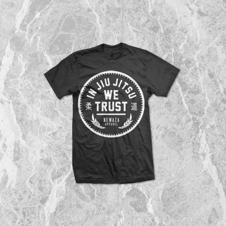 Newaza In Jiu Jitsu We Trust Kids Shirt - Bridge City Fight Shop - 1