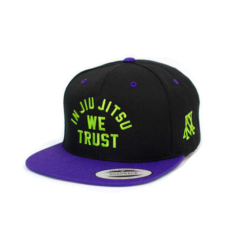 Newaza In Jiu Jitsu We Trust Hats - Bridge City Fight Shop - 7