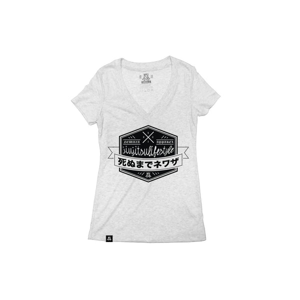 Newaza Jiu Jitsu Lifestyle Women's Vneck - Bridge City Fight Shop - 1