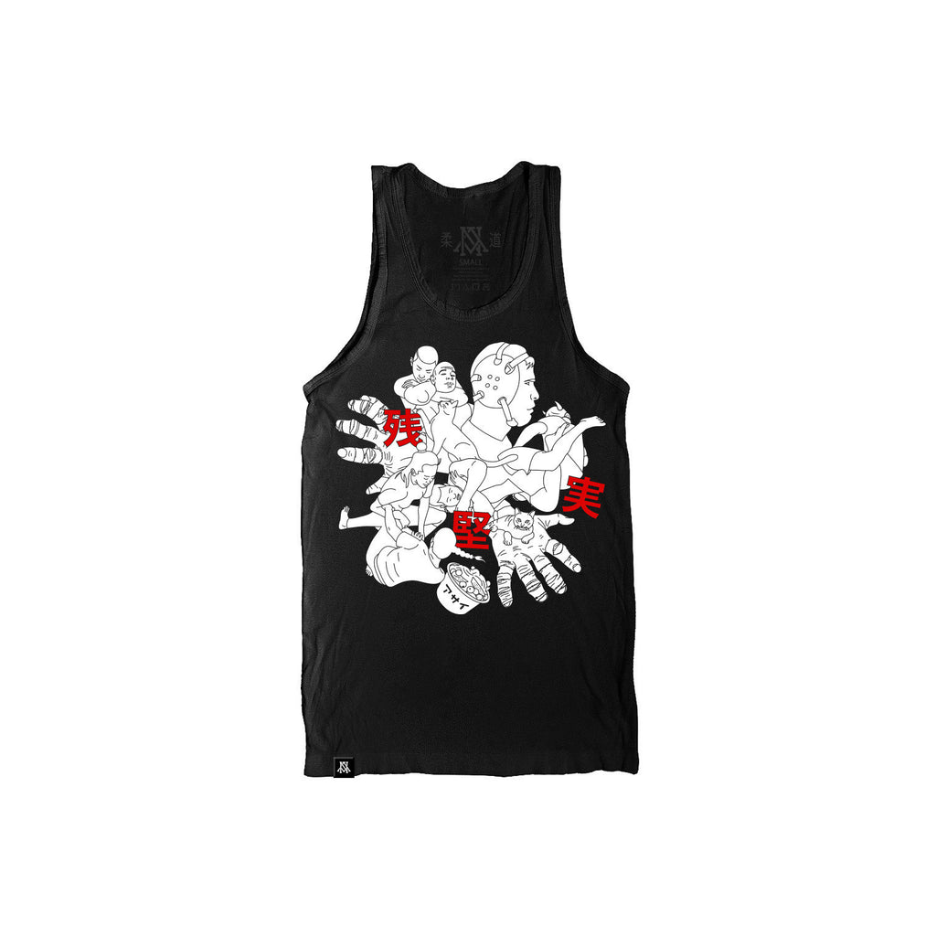 Newaza Roll Tank Top - Bridge City Fight Shop - 1