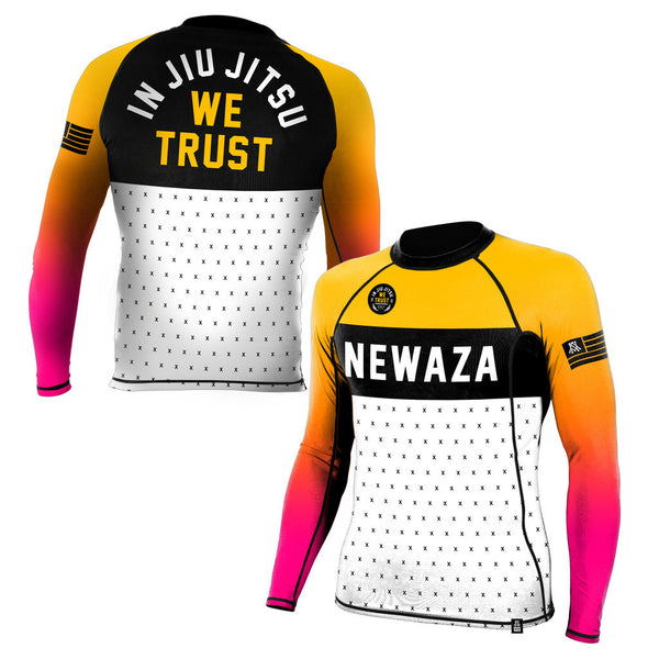 Newaza Trust Rashguard Long Sleeve - Bridge City Fight Shop