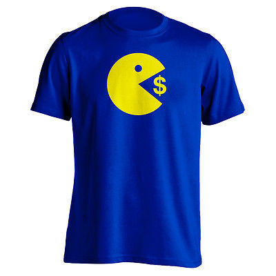 Pacman Eating $ T-Shirt - Bridge City Fight Shop - 1