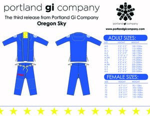 Portland Gi Company Oregon Sky Gi - Bridge City Fight Shop