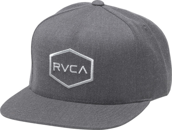 RVCA Commonwealth Snapback Hat - Bridge City Fight Shop - 1