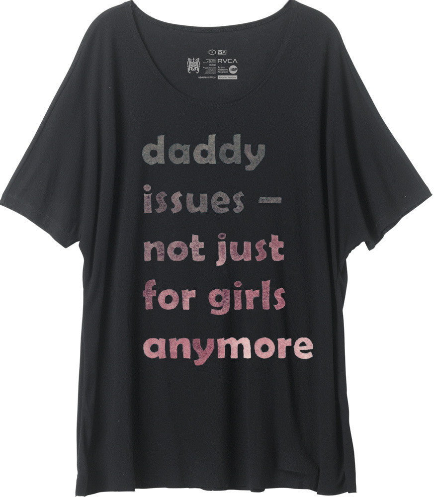 RVCA Women's Daddy Issues Tee - Bridge City Fight Shop