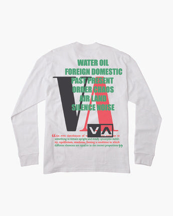 RVCA Headline Long Sleeve T-Shirt
