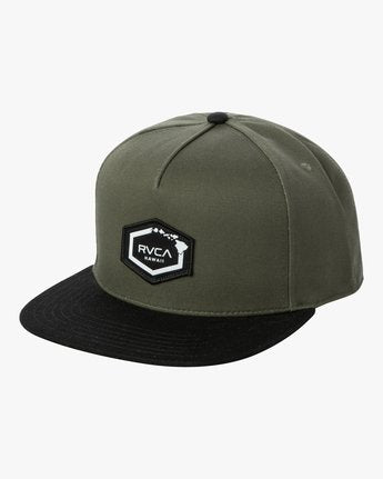 RVCA Islands Hex Snapback Hat
