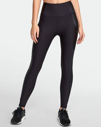 RVCA Matte Shine High Rise Legging