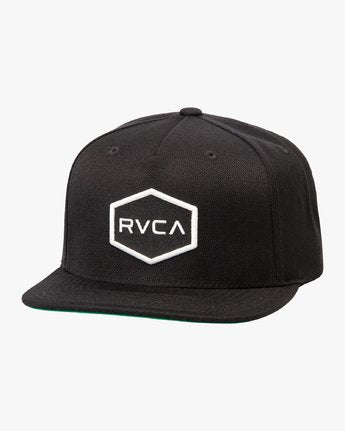 RVCA Boy's Commonwealth Snapback Hat