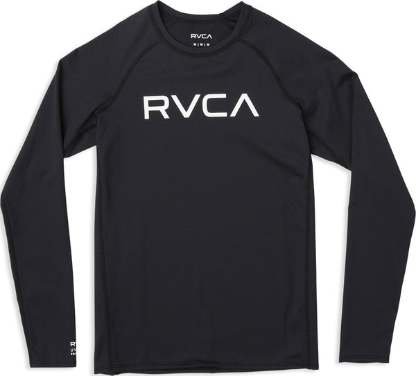 RVCA Boys Long Sleeve Rashguard