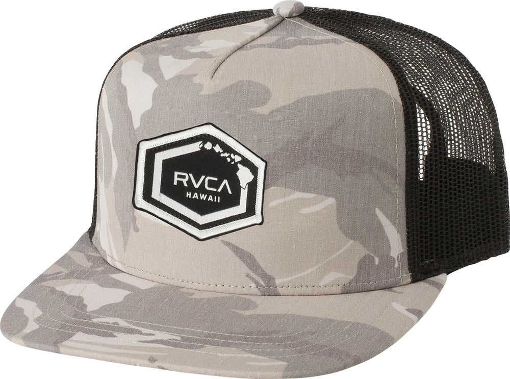 RVCA Hawaii Hex Patch Trucker Hat – Bridge City Fight Shop 5147cef056f