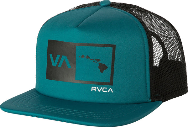 RVCA Islands Balance Box Foam Trucker Hat