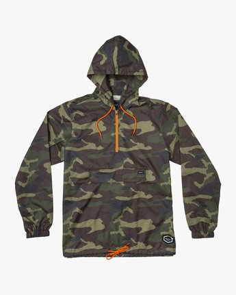 RVCA Islands Public Works Packable Jacket