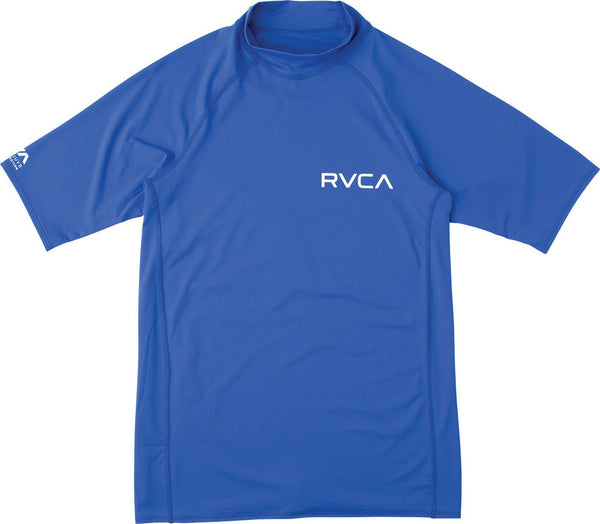 RVCA Solid Short Sleeve Rashguard