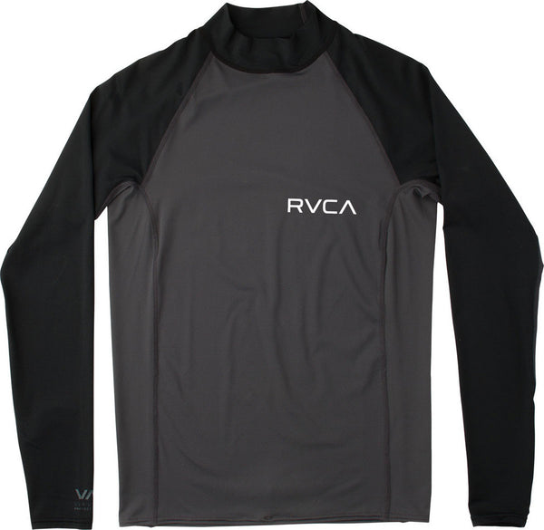 RVCA Solid Long Sleeve Rashguard