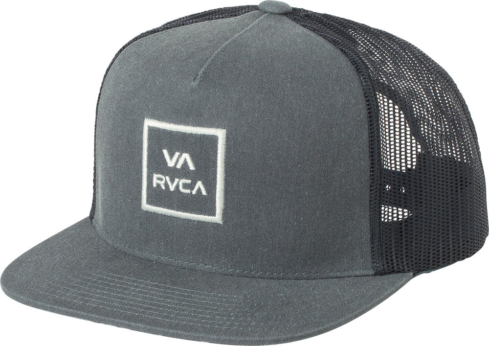 a46a4a5b9301a RVCA VA All The Way Printed Trucker Hat – Bridge City Fight Shop