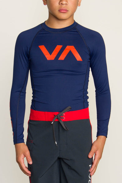 RVCA VA Boys Rashguard - Bridge City Fight Shop - 2