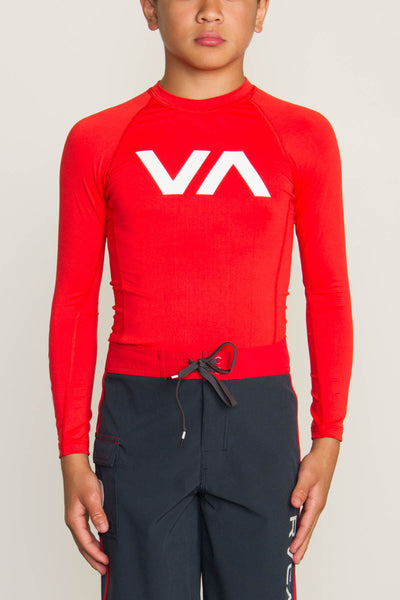 RVCA VA Boys Rashguard - Bridge City Fight Shop - 3