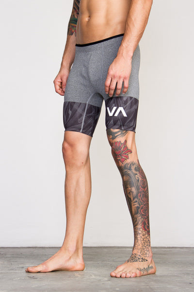 RVCA VA Sport Defer Compression Shorts